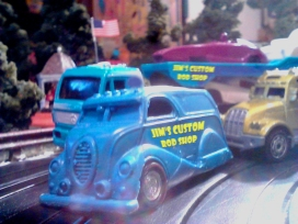 Sweet '38 Ford leading the pack!
